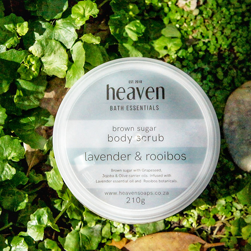 Body Scrub Rooibos and Lavender